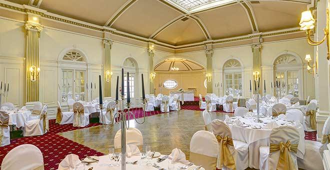 Royal Clifton Hotel Wedding Set up